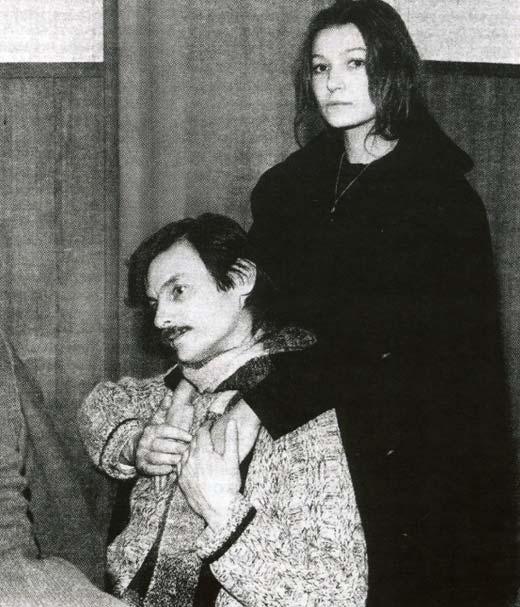 Наталья Бондарчук и Андрей Тарковский