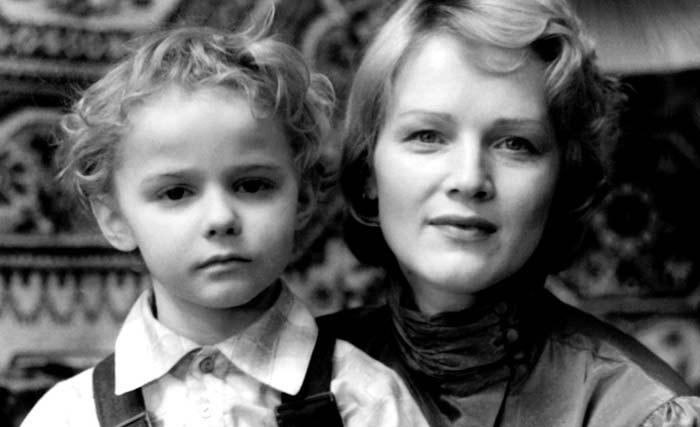Наталья Егорова и сын Александр