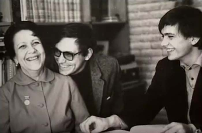 Наталья Кончаловская и сыновья