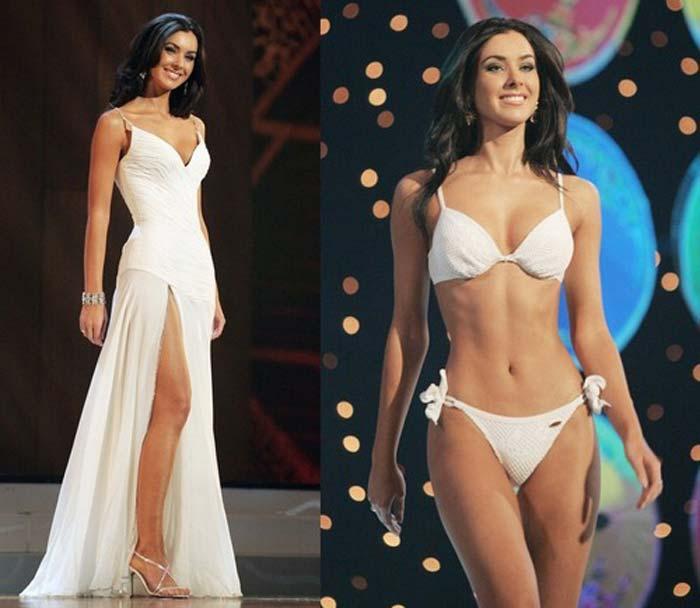 Наталья Николаева на конкурсе красоты