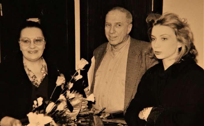 Наталья Тенякова и Сергей Юрский дочь Дарья