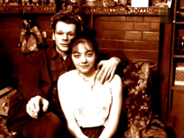 Никита Михайловский и вторая жена Екатерина