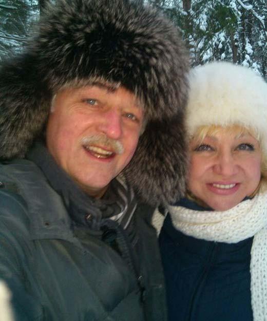 Никита Померанцев и жена Ирина