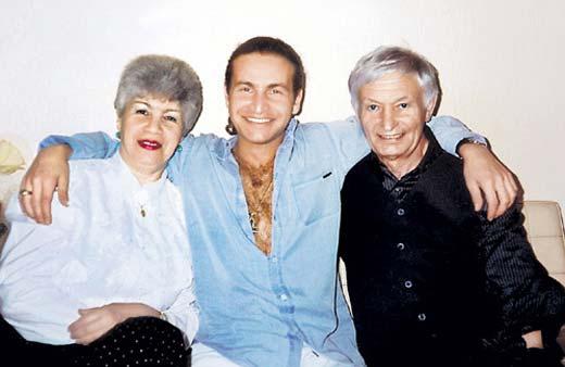 Николай Агутин жена Людмила сын Леонид