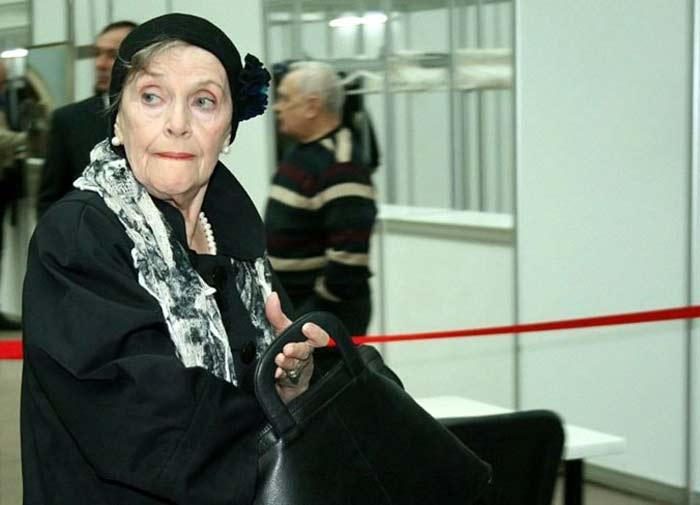 Нина Агапова в старости