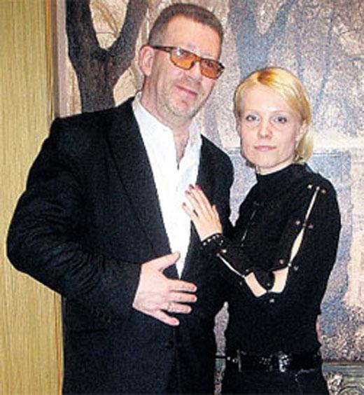 Олег Кваша и вторая жена Ольга