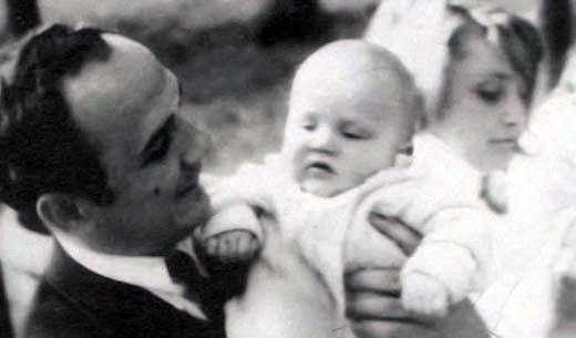 Олег Волков с сыном Дмитрием