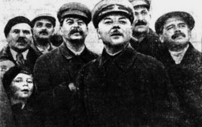 Ольга Аросева и Сталин