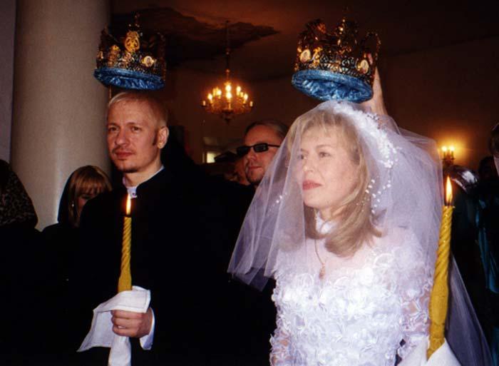 Ольга Кормухина и муж Алексей Белов