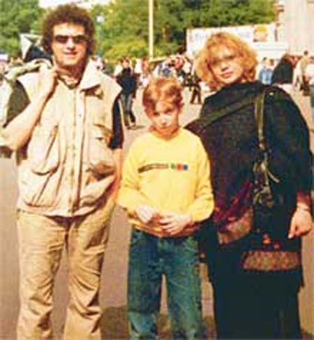 Ольга Машная и второй муж Алексей