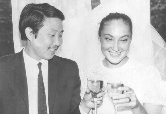 Ольга Матешко и муж Александр Итыгилов
