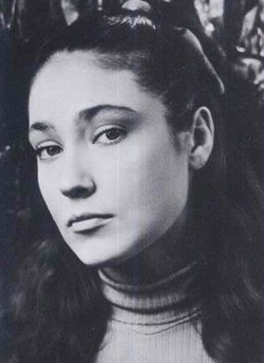 Ольга Матешко в молодости