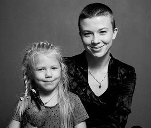 Ольга Смирнова и дочь Василиса