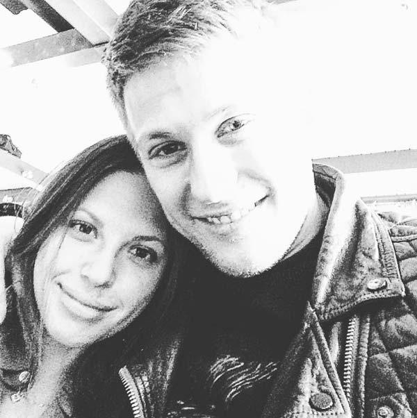 Павел Чинарёв и жена Алена Бондарчук 2