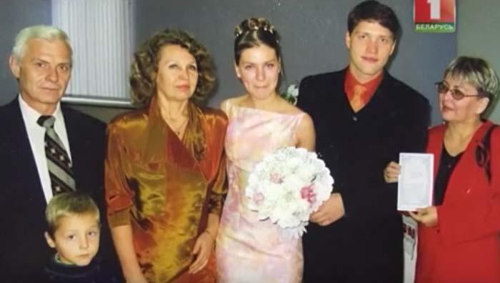 Павел Южаков-Харланчук и жена Анна 2