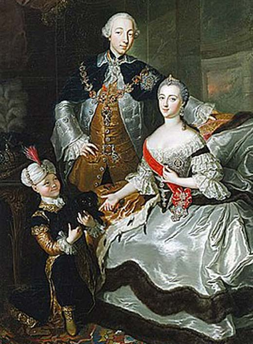 Петр III и Екатерина II 3