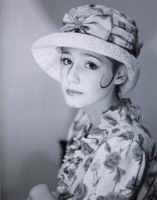 Полина Агуреева в юности