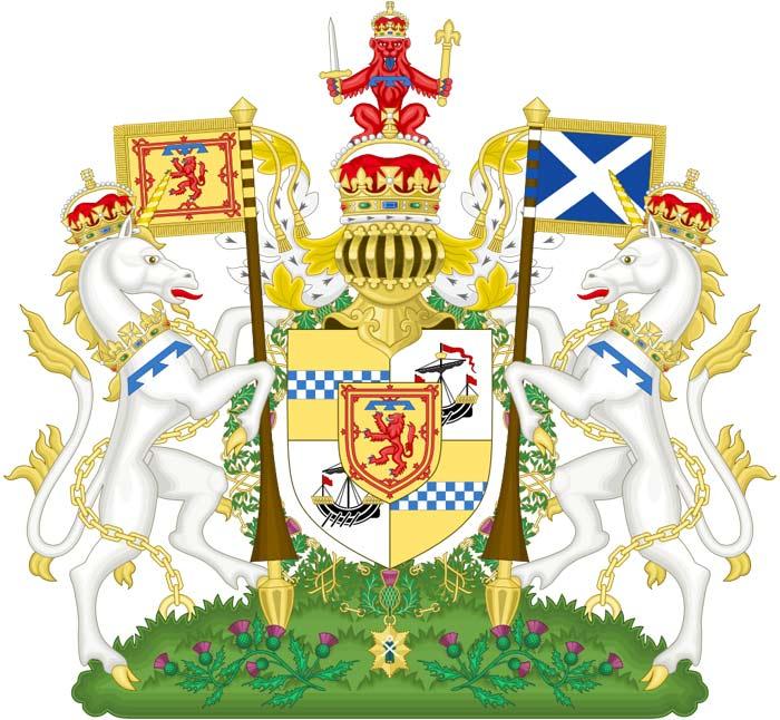 герб принца Чарльза как герцога Ротсейского