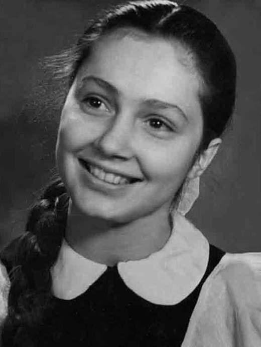 Раиса Недашковская в юности