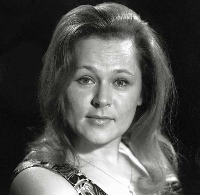 Раиса Рязанова в молодости