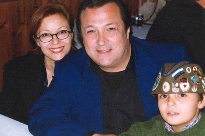 Робертино Лорети и жена Маура