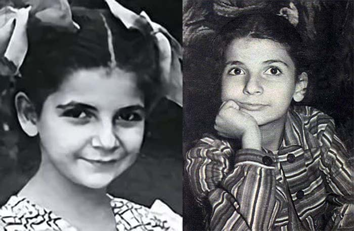 Роксана Бабаян в детстве