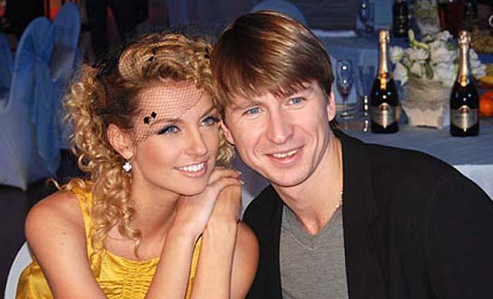 Саша Савельева и Алексей Ягудин