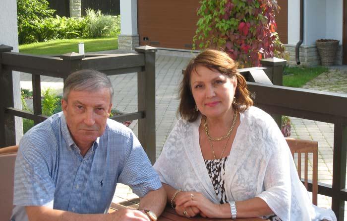 Семен Альтов с женой Ларисой