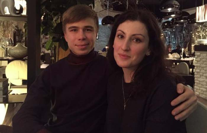 Семён Елистратов и жена Юлия 3