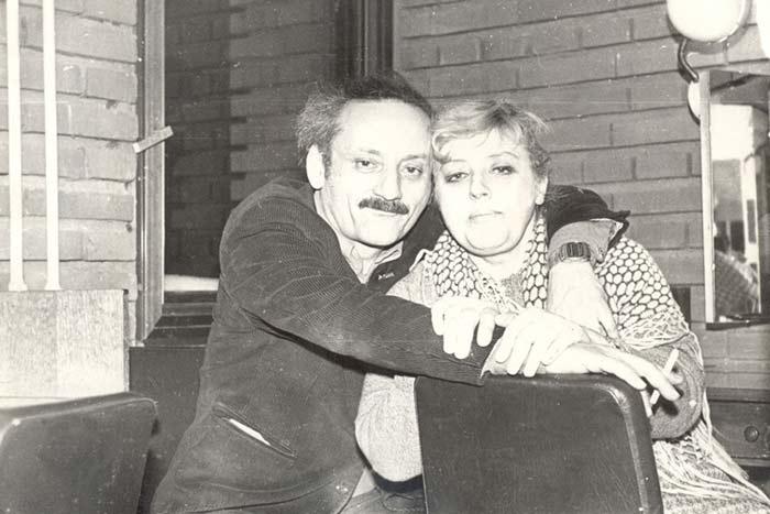 Семен Фарада и жена Мария Полицеймако