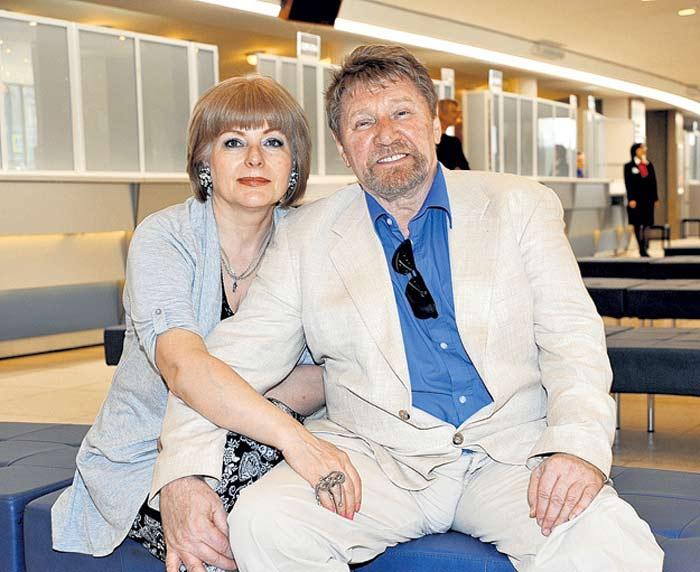 Семен Морозов и жена Светлана