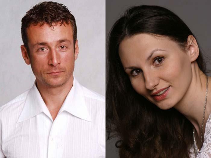 Сергей Апрельский и жена Анна Гришина