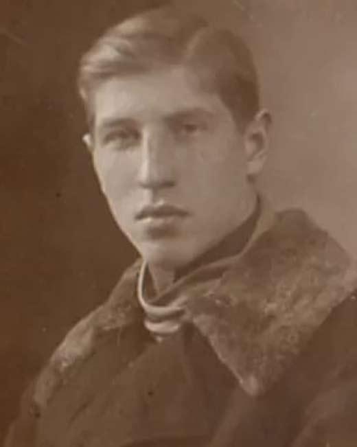 Сергей Филиппов в молодости