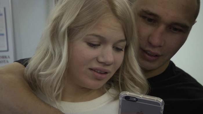 Сергей Липинец и жена Виктория