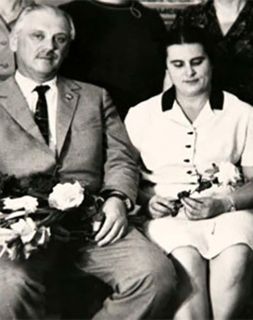 Сергей Михалков и Наталья Кончаловская