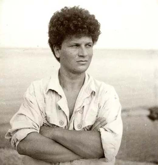 Сергей Минаев в молодости