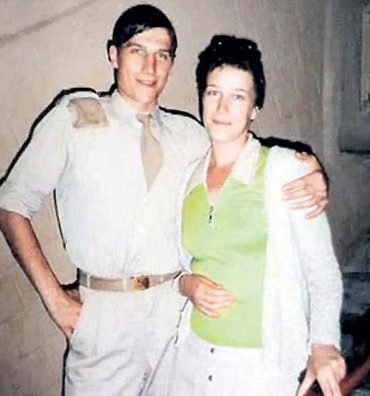 Сергей Угрюмов и жена Галина