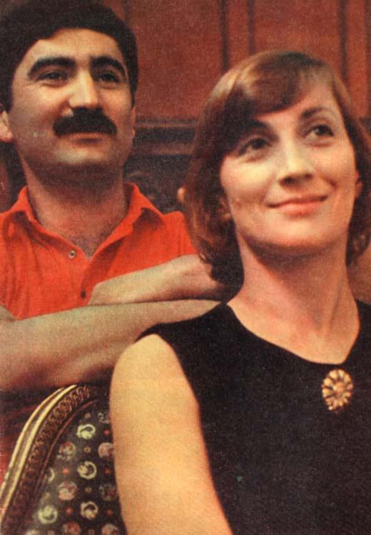 Софико Чиаурели и Георгий Шенгелая