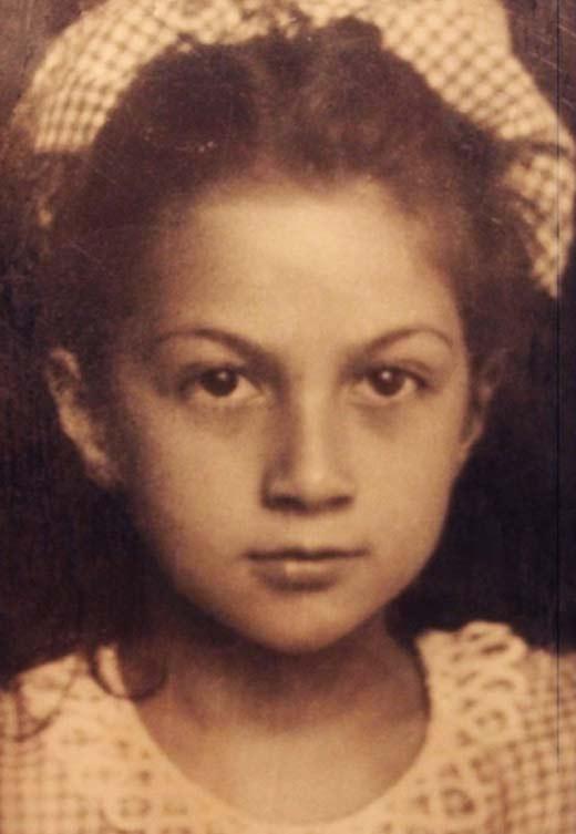 Софико Чиаурели в детстве