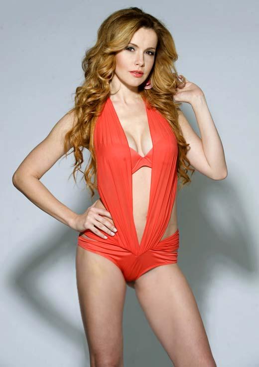 Татьяна Абраменко в купальнике