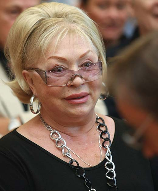 Татьяна Бестаева в старости