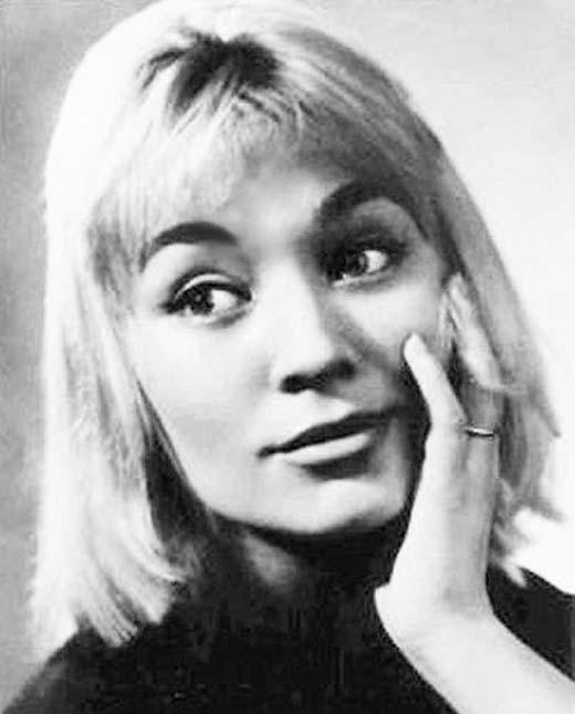 Татьяна Бестаева в молодости