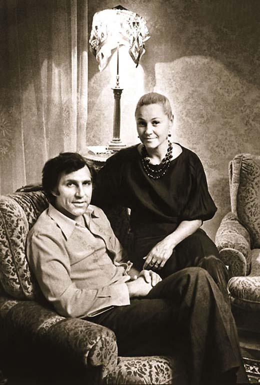Татьяна Конюхова и муж Владимир Кузнецов