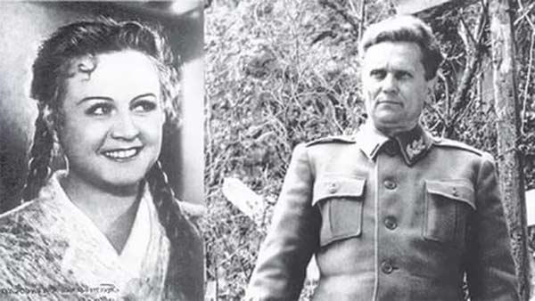 Татьяна Окуневская и Иосиф Броз Тито