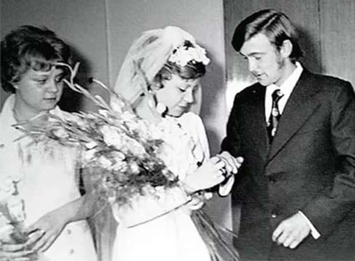 Татьяна Юкина с мужем