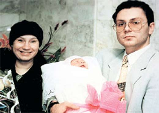 Ольга Тумайкина и Андрей Бондарь