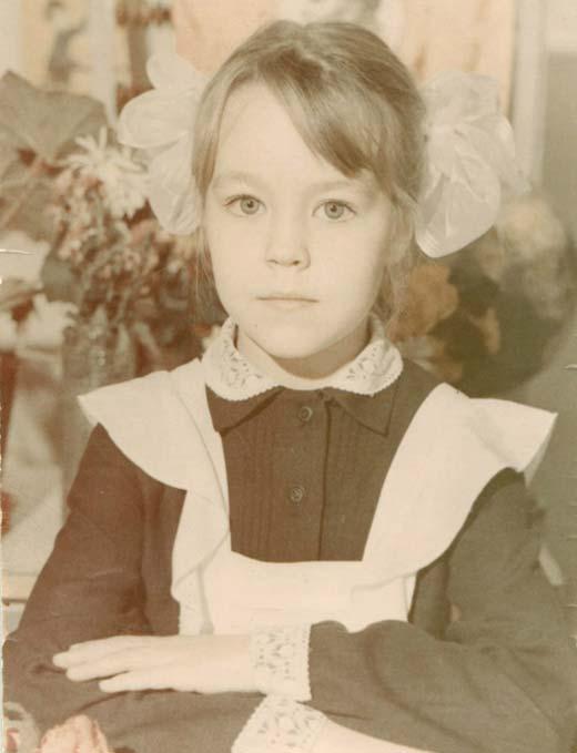 Ульяна Сергеенко в детстве