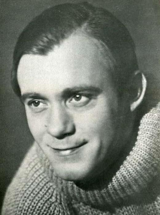 Валерий Носик в молодости