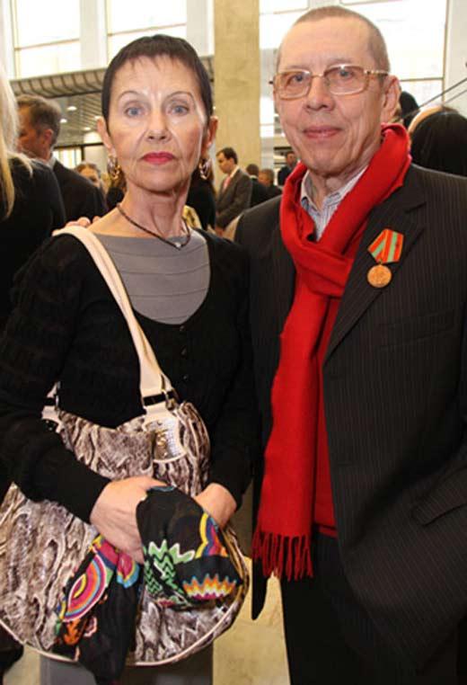 Валерий Золотухин и жена Тамара 2