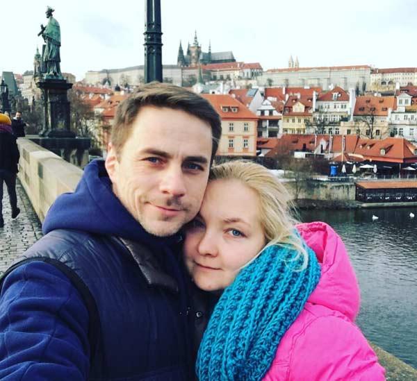 Василий Шмаков с женой